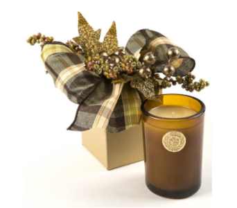 Lux Heirloom Pumpkin Candle Gift Box in Little Rock AR, Tipton & Hurst, Inc.