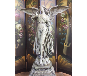 Large Angel Statue in Sterling Heights MI, Sam's Florist
