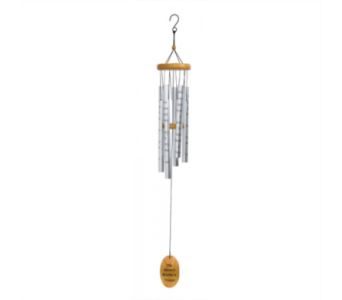 The Memory Becomes A Treasure Wind Chime in Xenia OH, The Flower Stop