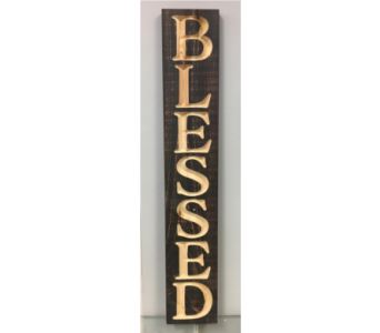 P Graham Dunn Pine Plank Blessed in Port St Lucie FL, Flowers By Susan