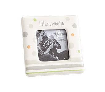 Little Sweetie Photo Fame in Gray and Green in Tampa FL, Buds, Blooms & Beyond