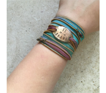 Be Brave Boho Bracelet in Virginia Beach VA, Fairfield Flowers