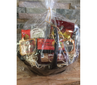 Custom Gift Basket in Sioux City IA, Barbara's Floral & Gifts