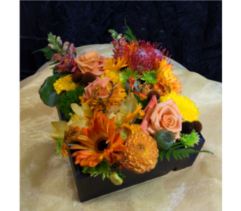 Large Flower Gift Box in Reno NV, Bumblebee Blooms Flower Boutique