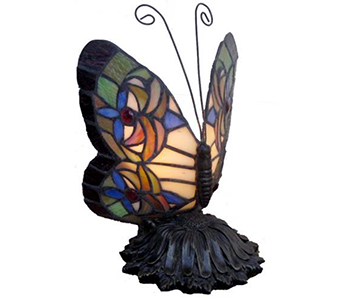 Memory Lamp - The Butterfly Lamp in Fort Worth TX, Greenwood Florist & Gifts