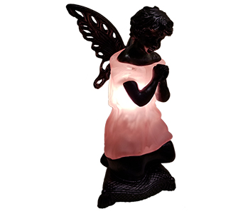 Memory Lamp - The Angel Lamp in Fort Worth TX, Mount Olivet Flower Shop