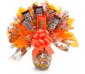 Candy Bouquet Vase Arrangement in Wichita KS, Dean's Designs