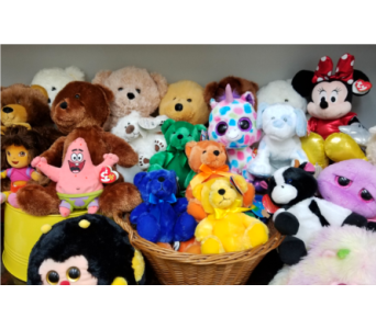 Plush Animals in Wichita KS, Dean's Designs
