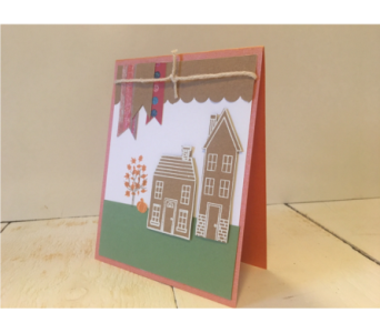 Fall Home Notecard in Granite Bay & Roseville CA, Enchanted Florist