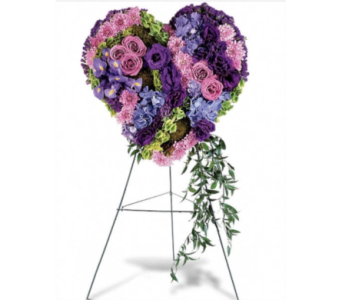 Custom Heart  in Needham MA, Needham Florist