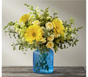 Something Blue� Bouquet by BHG in Chicago IL, Yera's Lake View Florist