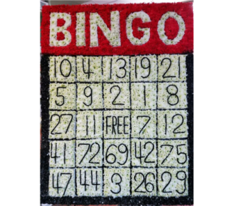 Bingo Card in Staten Island NY, Kitty's and Family Florist Inc.