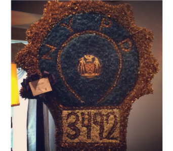 NYPD Detective Shield in Staten Island NY, Kitty's and Family Florist Inc.