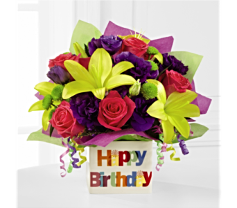 The FTD� Happy Birthday Bouquet  in San Antonio TX, Dusty's & Amie's Flowers