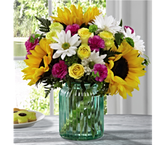 The FTD� Sunlit Meadows Bouquet by Better Homes in San Antonio TX, Dusty's & Amie's Flowers