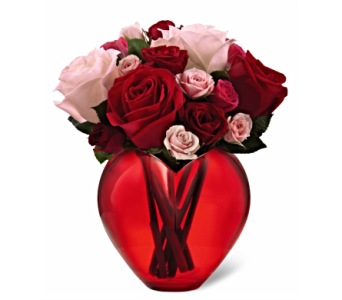 The FTD� My Heart to Yours Rose Bouquet  in San Antonio TX, Dusty's & Amie's Flowers