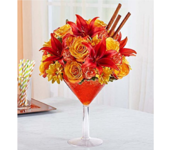 Martini Bouquet Pumpkin Spice in Huntington WV, Archer's Flowers and Gallery