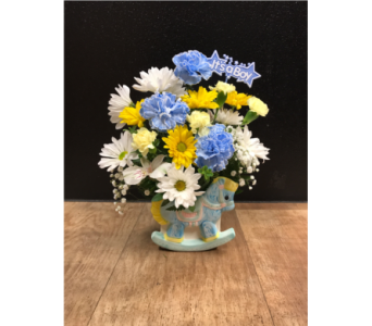 Rock-A-Bye Baby in Fargo ND, Dalbol Flowers & Gifts, Inc.