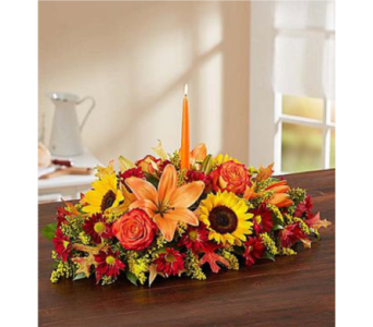 Fields of Europe for Fall Centerpiece in Huntington WV, Archer's Flowers and Gallery