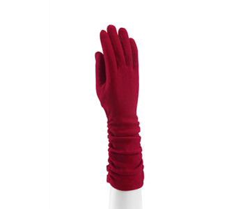 Red Shirred Cape Glove Wool in Indianapolis IN, Steve's Flowers and Gifts
