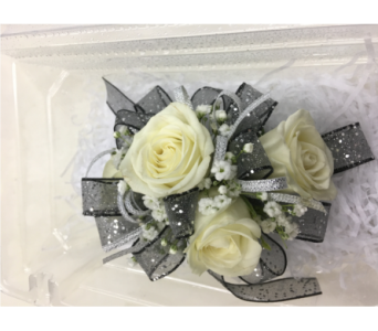 2 Tone Ribbon Corsage in Purcellville VA, Purcellville Florist