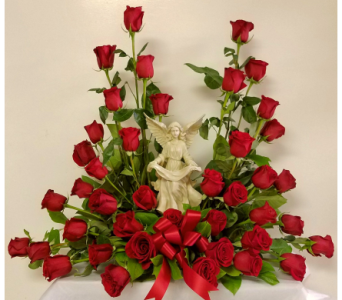 RIP ANGEL ARRANGEMENT  in Yonkers NY, Beautiful Blooms Florist