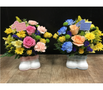 Baby's First Steps in Fargo ND, Dalbol Flowers & Gifts, Inc.