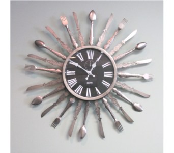 Utensil Clock in Richboro PA, Fireside Flowers