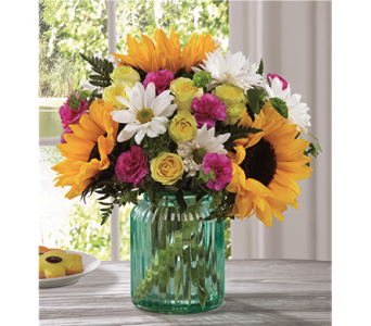 The Sunlit Meadows Bouquet by BHG in Chicago IL, Yera's Lake View Florist
