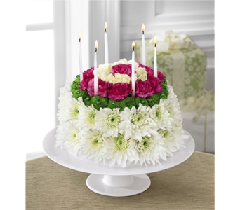 The Wonderful Wishes� Floral Cake in Chicago IL, Yera's Lake View Florist