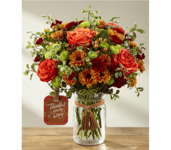 The Many Thanks� Bouquet by Hallmark in Chicago IL, Yera's Lake View Florist