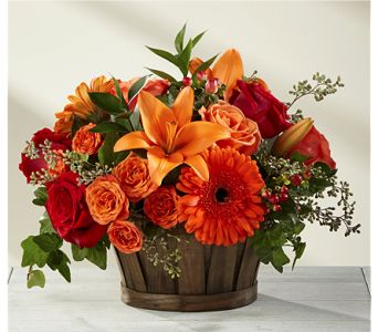 The FTD� Harvest Memories� Basket in Chicago IL, Yera's Lake View Florist