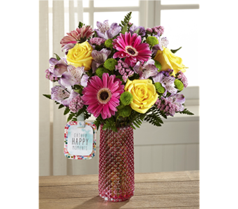 The Happy Moments� Bouquet by Hallmark in Chicago IL, Yera's Lake View Florist