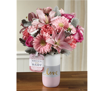 The Sweet Baby Girl� Bouquet by Hallmark in Chicago IL, Yera's Lake View Florist
