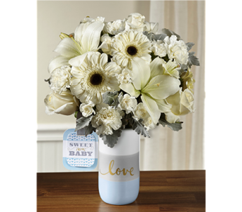 The Sweet Baby Boy� Bouquet by Hallmark in Chicago IL, Yera's Lake View Florist