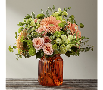 The Peachy Keen� Bouquet by BHG in Chicago IL, Yera's Lake View Florist