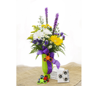 Fidget Hand Spinner Bouquet in Lebanon TN, Sunshine Flowers