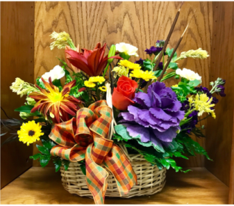 Fall Meadow Basket  in Wall Township NJ, Wildflowers Florist & Gifts