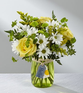 The Hello Sun� Bouquet in Sapulpa OK, Neal & Jean's Flowers & Gifts, Inc.