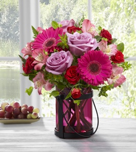 The Pink Exuberance Bouquet by BHG in Sapulpa OK, Neal & Jean's Flowers & Gifts, Inc.