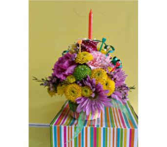 Birthday flowers delivery marlboro nj little shop of flowers flower cupcake in marlboro nj little shop of flowers negle Images