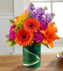 The Sunset Sweetness� Bouquet in Sapulpa OK, Neal & Jean's Flowers & Gifts, Inc.
