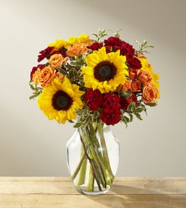 The Fall Frenzy� Bouquet in Sapulpa OK, Neal & Jean's Flowers & Gifts, Inc.