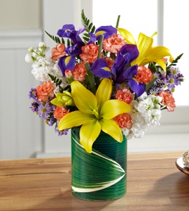 The Sunlit Wishes� Bouquet in Sapulpa OK, Neal & Jean's Flowers & Gifts, Inc.