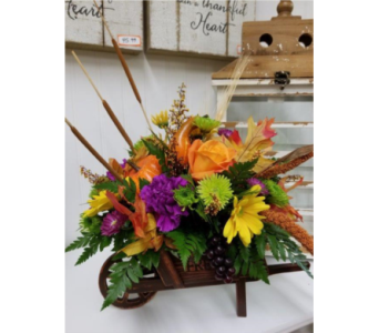 Fall Wheelbarrow Harvest in Alexandria MN, Anderson Florist & Greenhouse