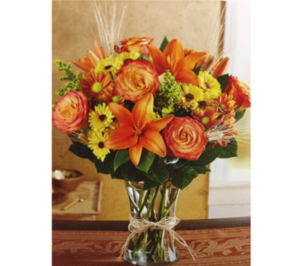 Fields of Europe Vase in Kissimmee FL, Golden Carriage Florist