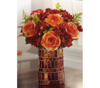 Amber Waves Bouquet in Kissimmee FL, Golden Carriage Florist