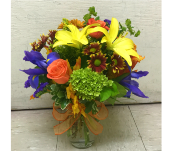 FALL MIXED ARRANGEMENT in Arlington VA, Twin Towers Florist