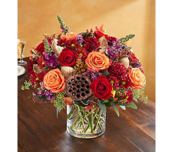 Vintage Autumn Blossoms in Fairfax VA, Exotica Florist, Inc.