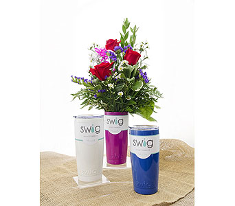 Swig and Roses Bouquet in Lebanon TN, Sunshine Flowers